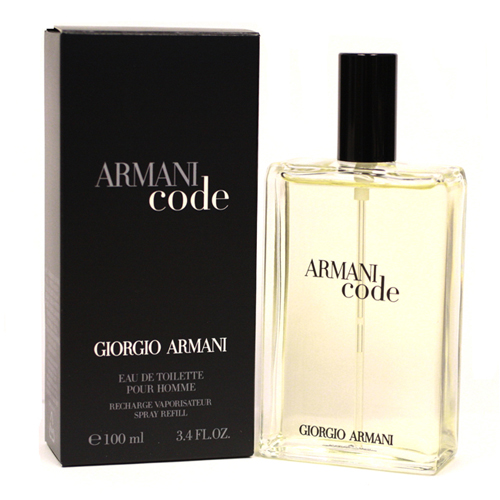 armani code pour homme by giorgio armani 100ml edts refill. Black Bedroom Furniture Sets. Home Design Ideas