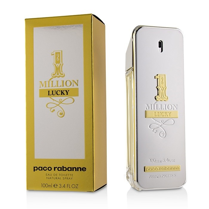 1 Million Lucky By Paco Rabanne Mens Fragrance Heaven