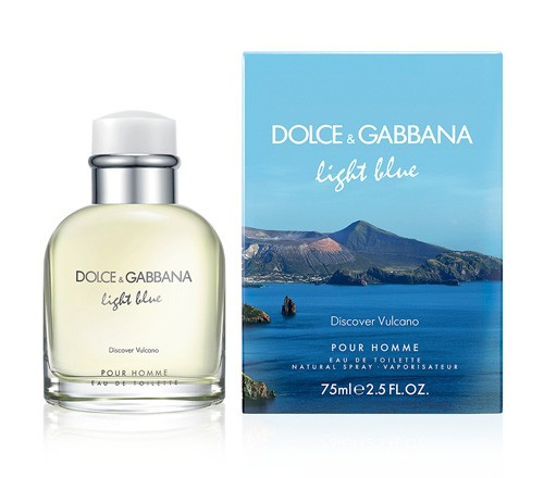 Light Blue Discover Vulcano Pour Homme By Dolce & Gabbana