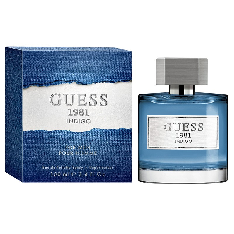 Guess 1981 Indigo Pour Homme By Guess